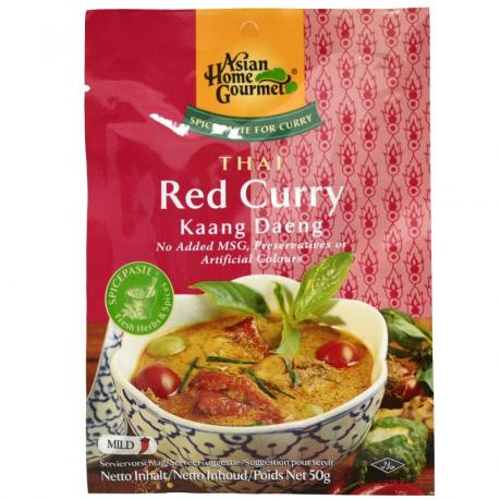 Pasta tailandeza de curry rosu Kaang Daeng 50 g - Asian Home Gourmet