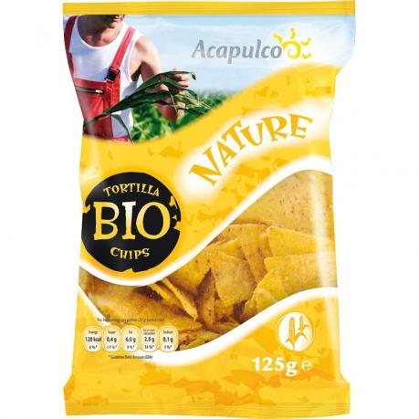 Tortilla chips ECO 125 g0