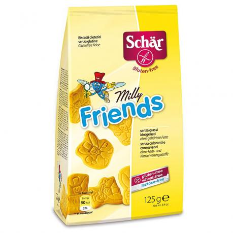 Milly Friends - Biscuiti  fara gluten 125 g - Schar