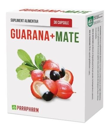 Guarana mate 30 cp - Parapharm