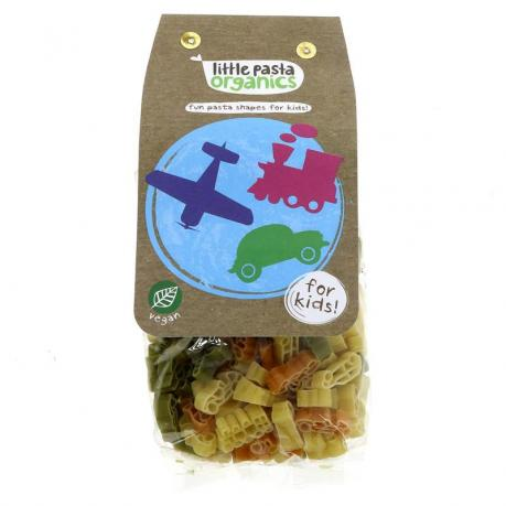 Paste travel pentru copii din grau dur ECO 250 g - Little Pasta Organics