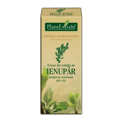 Extract din mladite de IENUPAR - Juniperus communis 50 ml0
