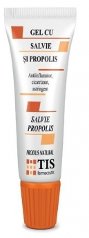 Gel salvie si propolis 20 ml