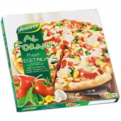 Pizza vegetariana congelata ECO 350 g