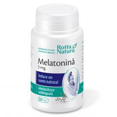 Melatonina 3 mg. 20 cp