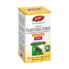 PLANTUSIN FORTE, sirop miere si propolis 100 ml